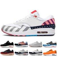 الأزياء 1 dlx atmos رجل traniers الجري أحذية الحيوان حزمة 1 ثانية 87 ليوبارد الرجال النساء الرياضية zapatos المدربين 36-45