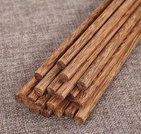Cucina posate, Sala da pranzo Casa Garden Garden Consegna di goccia 2021 Bacchette di bambù in legno naturale giapponese Salute senza lacca Le stoviglie di cera