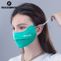 ROCKBROS Cycling Face Mask Ice Silk Summer 3D Protection Breathable Washable Masks