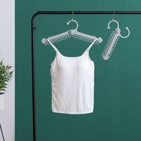 Multipurpose Folding And Skid Proof 20 Holes Clothes Hanger Underwear Socks Airing Rack Drying 44.5*7cm Hangers & Racks