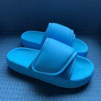 Pantshoes Tasarımcı Sandalet Sezon 6 Yüksek Sokak Velcro Hindistan Cevizi Terlik Ekmek Su Geçirmez Naylon Terlik