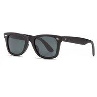 Bolo.ban 2140 square traveler sunglass man women TR90 frame with glass lens mirror de sol Gafas uv400 protect