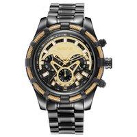 AVX1 Время / Космические Часы Skone Мужские Многофункциональные Спортивные Спорт Высококачественный сталь Сталь Водонепроницаемый Кварц
