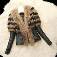 Outerwear Coats Trendy Women Leather Zipper Jacket Slim Biker Motorcycle Coat Punk Outwear Female Casual Overcoat M840# Women's Jackets