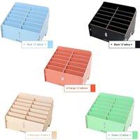 Tool Organizers 12 Cells Multifunctional Wooden Storage Box Mobile Phone Repair Organizer