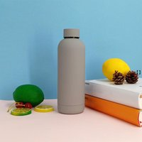 500ml Vacuum Insulated Sports Water Cups 304 Stainless Steel Outdoor Portable Water Bottle Leak Proof Flasks Thermos Cup NHA4987