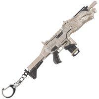 Kahraman Apex Silah Rongguang Saldırı Tüfek Modeli Subchin Gun Alaşım Kolye Apex Metal Anahtarlık