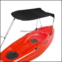 Rafts Inflatable Paddling Water Sports & Outdoorsrafts Inflatable Boats 1Pc Kayak Awning Fishing Boat Sunshade Er Sunblock Rainproof Folding