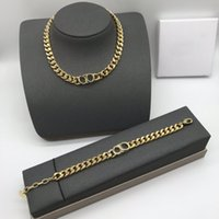 L-D20 Luxury Designer Necklaces chain Bracelet High Quality Top gift With Stamps