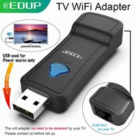 EDUP USB WIFI Repeater 300Mbps 2.4GHz Wireless WiFi Signal Amplifier WI-FI Range Extender with Lan Port Adapter for TV Player