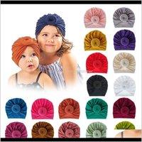 Caps Hüte Baby, Mutterschaft18 Farbe Baby Stirnbänder Donut Knoten Bands Indien Donut Stirnband Infant Mädchen Kinder Asoresen Kinder Haarband D