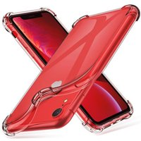 Super Anti-knock Soft TPU Transparent Clear Phone Case Protect Back Cover Shockproof For iPhone 12 mini 11 pro X XS max XR 7 8 6 plus SE