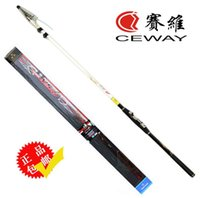 Kohlefaserfelsen Angelruten CEWAY YS 6 ISO Fish Rod Tackle Poles Bolognese Pole Boot