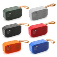 TG296 Bluetooth Portable Wireless Speakers Subwoofers Handsfree Call Profile Stereo Bass Support TF USB Card AUX Line In Hi-Fi Loud Mini