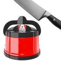 Kitchen Sharpener Safe Knife Scissors Blade Grinder Stone Knives Sharpening Tungsten Diamond Sharpener Tool with Suction Pad
