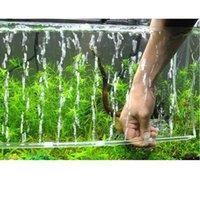 Small Animal Supplies Bubble Tube Air Stone Oxygen Aeration Pump Curtain Aquarium Fish Tank Tools Drop D3
