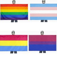 Rainbow Asexua Gender Pride Flags Transgender Genderqueer Flag Identity Sex Bisexual Support Both Sex Gay Lesbian Love Flags Garden Party Banner G71KIVP
