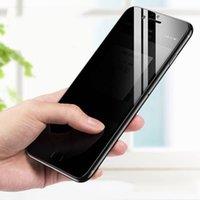 الخصوصية الزجاج المقسى شاشات خاصة حامي مكافحة تجسس فيلم الحرس واقية منحنية منحنية غطاء قسط درع ل فون 13 برو ماكس 12 ميني 11 XS XR X 8 7 6 6S plus se
