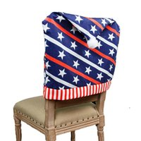 Chair Covers Independence Day Party Supplies Chairs Cover Decoration Slipcovers For Room Dining Decor EWD6832
