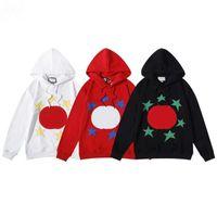 2021 Hoodies das Mulheres Masculinas Fall / Inverno Estrela Bordada Carta Impressão Europeia e Americana de Luxo Top Moda Roupas Solta Camisola Jaqueta