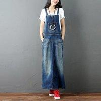 Frühling Vintage Jeans Kleid Frauen Waschen Lange Denim Sommerkleid Retro Weibliche Herbst Casual Vestidos Femininos W793