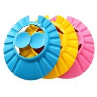 Adjustable Shower cap protect Shampoo for baby health Bathing bath waterproof caps hat child kid children Wash Hair Shield