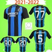 2021 2022 Club Brugge KV SOCCER JERSEY V.BADJI 27 MATA 77 AWAY KOSSOUNOU 5 VANAKEN 20 DE KETELAERE 90 JERSEYS 21 22 CAMISETAS DE FÚTBOL local azul y negro