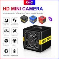 FX01 1080P كامل HD كاميرا ويب IP مصغرة كاميرا لاسلكية صغيرة كاميرا فيديو كاميرات الأمن عمل الحركة للرؤية الليلية