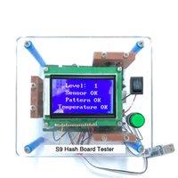 Supporto per il test di test di Antminer Hashboard per S9 T9 T9 + Tester bitmain con imballaggio in cartone
