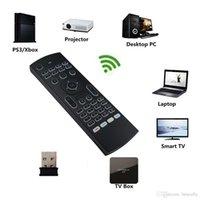 Mini MX3 Air Mouse Backlight X8 2.4G Wireless Keyboard Control For Android TV Box IR Learning Fly Backlit Remote