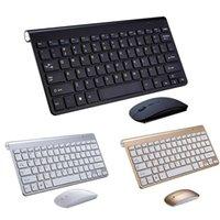 2.4G teclado sem fio e mouse protable mini keyboard mouse conjunto conjunto para caderno laptop mesa de mesa computador inteligente tv smart ps4