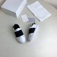 Дети роскошные дизайнерские туфли дети кроссовки Низкий верхний кроссовка размер малыш повседневная обувь 24-35 с коробкой XX-0205