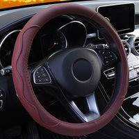 Steering Wheel Covers Car Interior Parts Cover Universal Braid Fashion Non-slip Styling
