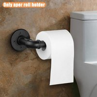 Toilet Paper Holders Accessories Kitchen Tool Heavy Duty Bathroom Supplies El Wall Mounted With Screw Roll Holder Iron Easy Install