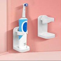 Accessori per il bagno Accessori per lo spazzolino da denti elettrici Creativo Spazio a risparmio di spazio a parete Teacheless Organizzatore Organizzatore Organizzatore