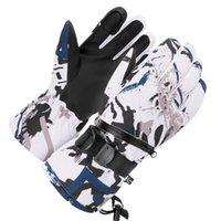 Лыжные перчатки 1 пара ветрозащитных катания на лыжах