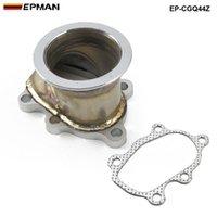 "EPMAN - for GT25 GT28 T28 T28 TURBO DOWN أنابيب 5 الترباس إلى 2.5 ""63mm v band flange محول EP-CGQ44Z"