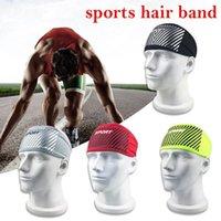 Yoga Hair Bands Elastic Sport Headband Fitness Sweatband Outdoor Gym Running Tennis Basketball Wide For Athletic Men Women