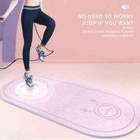 Fitness Mat Elasticity Salto de salto Durable Línea de cuerpo de yoga al aire libre antideslizante Ejercicio antideslizante MUDE MUTE MUTE DE Densidad