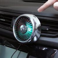 LED multifunción Suministros automotrices Aire acondicionado Aire acondicionado Ventilador de viento Outlet Center Console USB Regule la expansión del automóvil