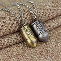 Game DIY Design World Of Tanks Pendent Necklace Logo High Quality Accessories Vintage Chain Gift For Men Women Fans Pendant Necklaces