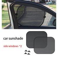 Car Sun Shade For MG GS ZS HS GT MG3 MG5 MG6 Hatchback Sucker Side Window Sunshades Shading Summer Visor Curtains Sunshade