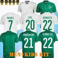 2021 الصفحة الرئيسية Away Algerie Soccer Jersey Fans Player Mahrez Bounedjah Fegholi Bennacer Atal 21 22 Algeria Mailleot De Foot