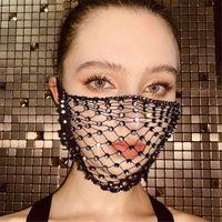 Bling sequins Bling mask, fashion jewelry, glitter jewelry, rhinestone tassels, pendant