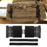 Cycling Helmets Vest Buckle Tactical Universal Quick Removal Slider Webbing Attach For U0A3