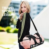 Color Fashion Contrast Gym Bags, Women' s Bag For Yoga Fi...