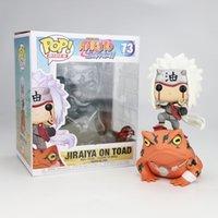 Funko Pop Naruto Vento vem da boneca de decoração de modelo feita à mão de Toad de Toad 73