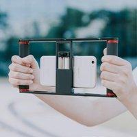 Caméra DSLR CAGE CAGE SUPPORT DE PLANIFTERIE ALUMINIUM TÉLÉPHONE MOBILE MOBILE AVEC STABILISANTS DE VIS 1/4