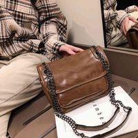 Women's bag super fire chic chain shoulder bag 2020 new fashion slant span small bag