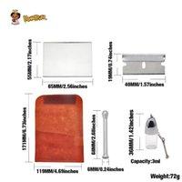 Suede tobacco bag set sniffer snot tube cosmetic powder distributor 420 set